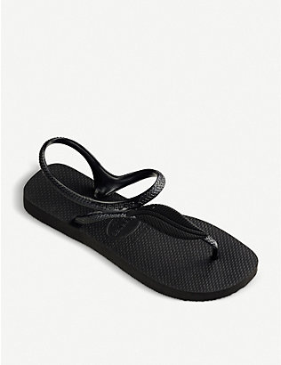 HAVAIANAS: Flash Urban Plus rubber sandals