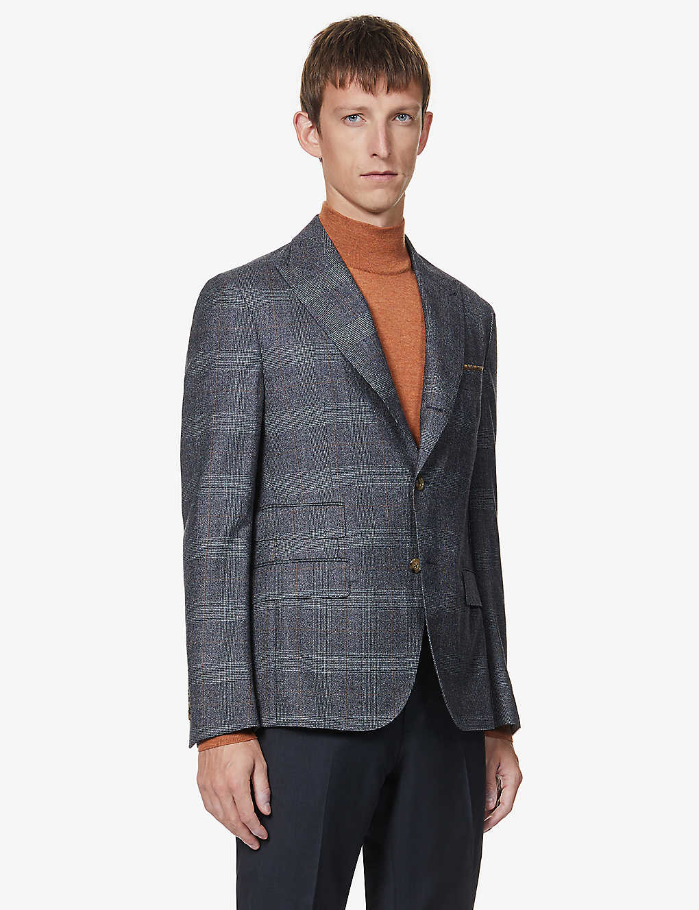 ELEVENTY: Single-breasted wool blazer