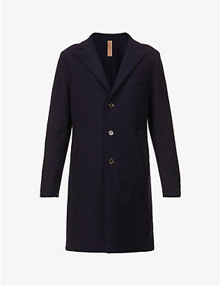 ELEVENTY: Single-breasted wool coat