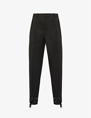 JW ANDERSON: Tapered high-rise wool trousers