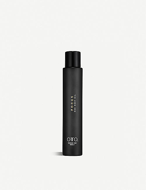 OTO: Focus 1,000mg CBD body oil 100ml