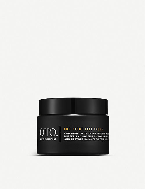 OTO: 1,250mg CBD night face cream 50ml