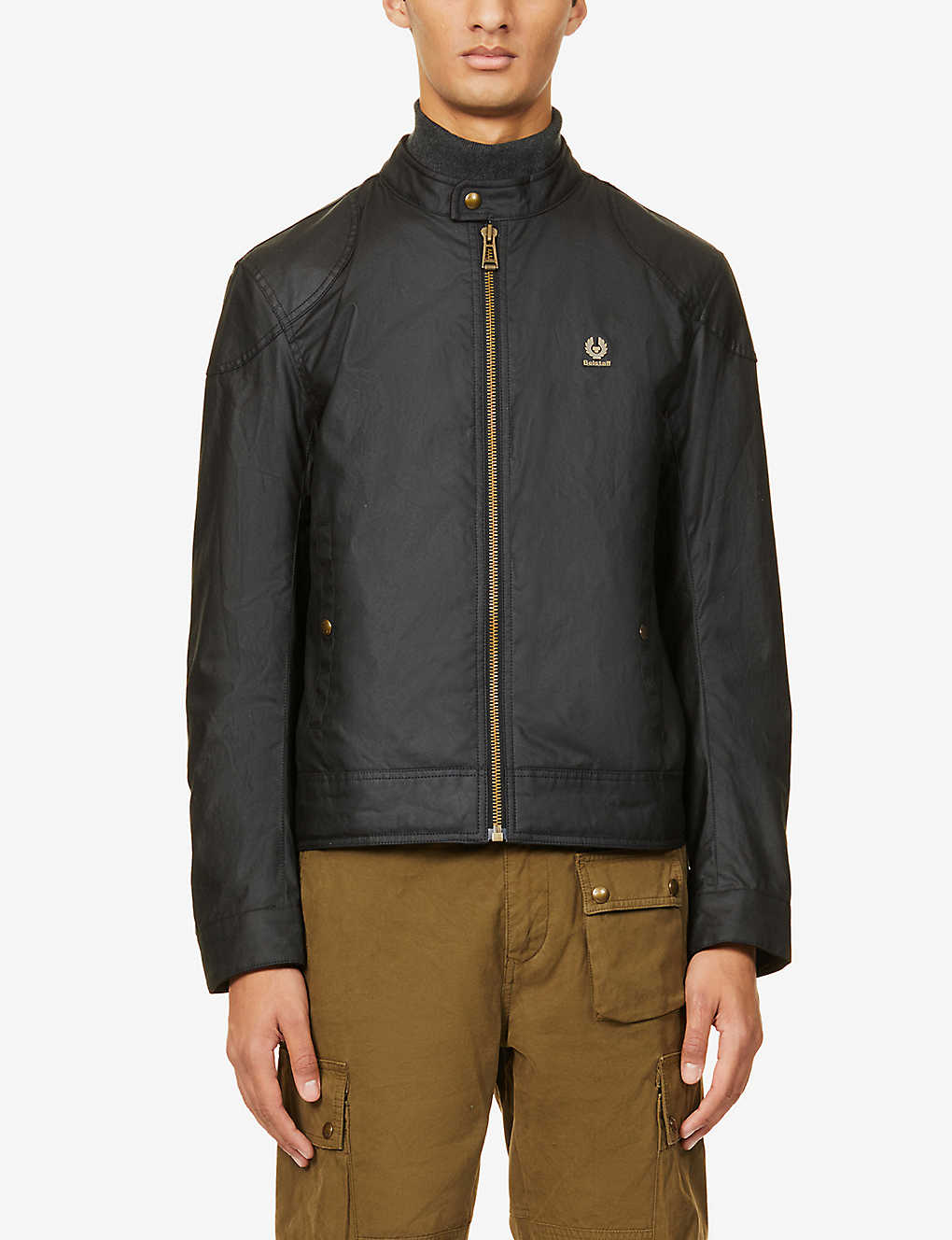 BELSTAFF: Kelland coated-cotton jacket