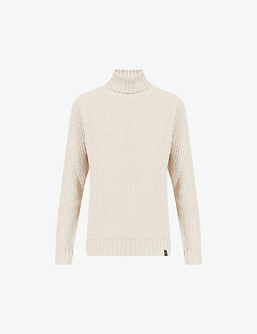 BELSTAFF: Marine turtleneck wool jumper
