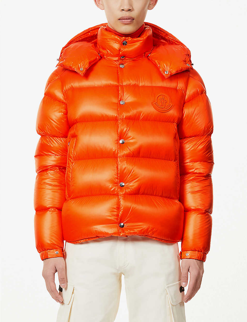 MONCLER: Tarnos padded shell-down jacket