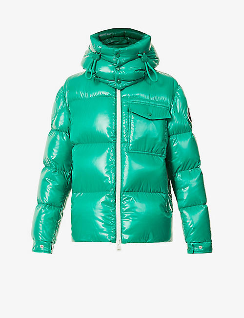 MONCLER: Vignemale padded shell-down jacket