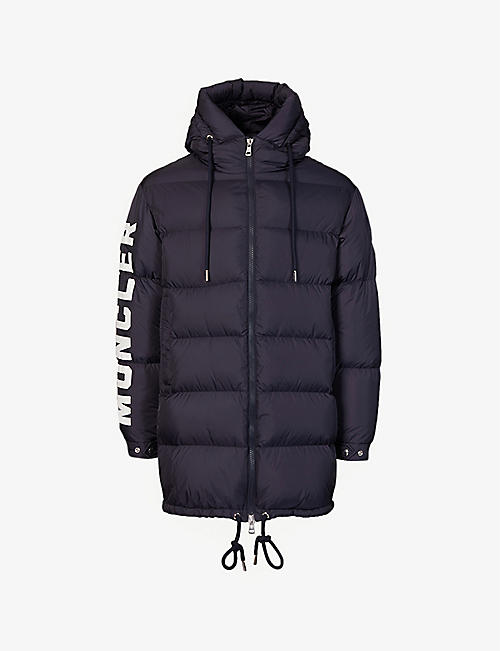 MONCLER: Moncenisio padded shell jacket