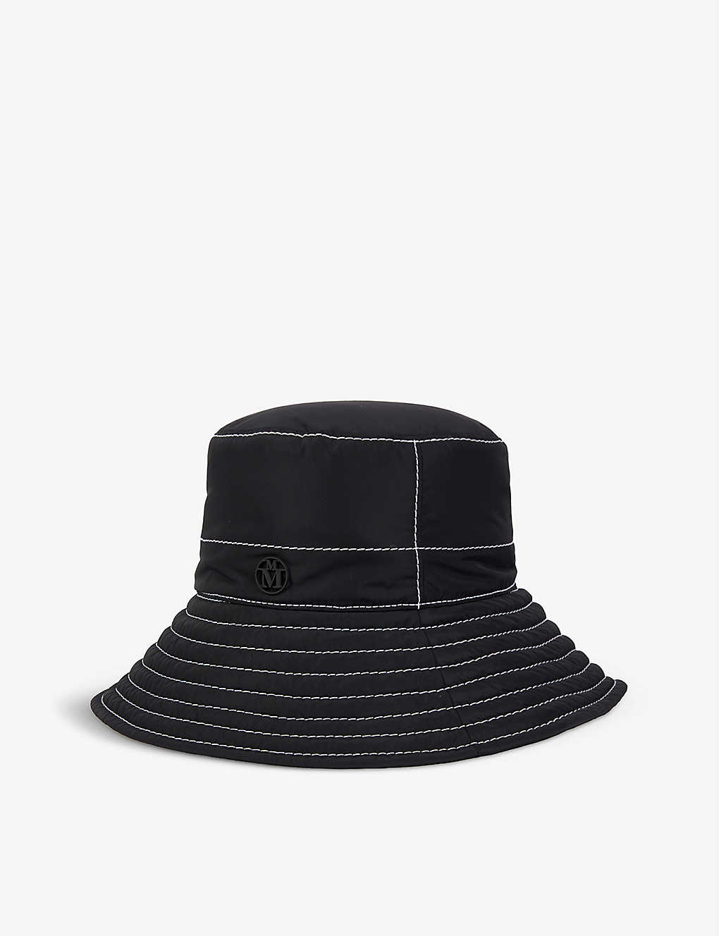 MAISON MICHEL: Charlotte shell bucket hat