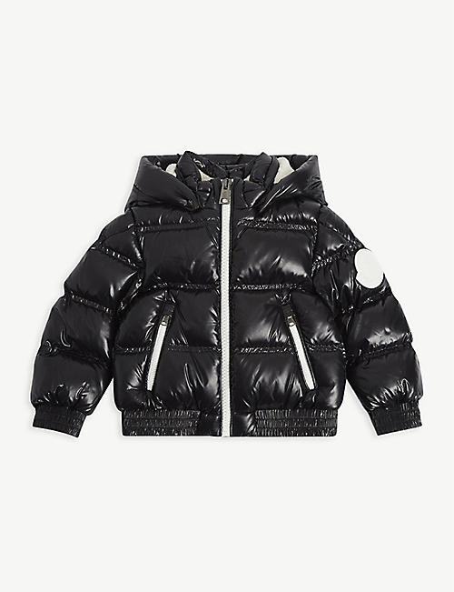 MONCLER: Citsio nylon puffer jacket 4-14 years