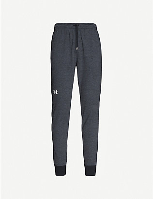 UNDER ARMOUR: Double Knit stretch-jersey jogging bottoms