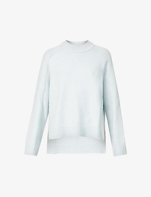 ROSETTA GETTY: Asymmetric cotton-blend jumper