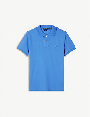 RALPH LAUREN: Logo cotton-jersey polo shirt 2-14 years