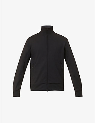 Y3: Classic Track high-neck jersey tracksuit jacket