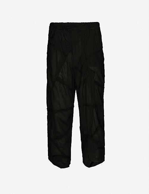 BY WALID: Artem tapered cotton trousers