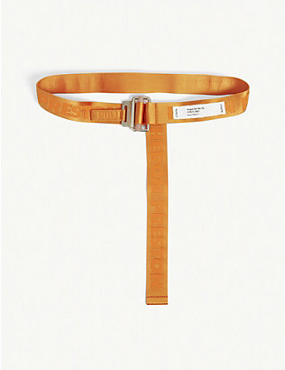 HERON PRESTON: Logo tape belt