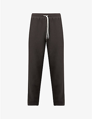 CRAIG GREEN: Laced cotton-blend jogging bottoms
