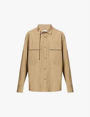 CRAIG GREEN: Laced cotton shirt
