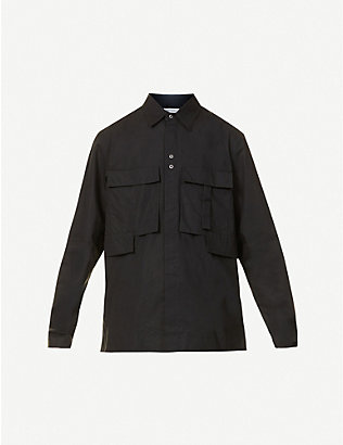 CRAIG GREEN: Utility cotton shirt