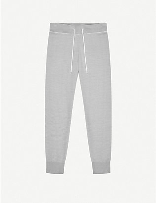 VARLEY: Alice relaxed-fit cotton-jersey jogging bottoms