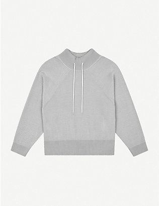 VARLEY: Maceo relaxed-fit cotton-jersey sweatshirt