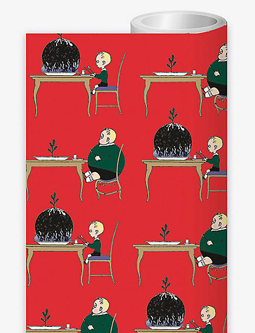 MUSEUMS AND GALLERIES: Pudding Boy wrapping paper 70cm