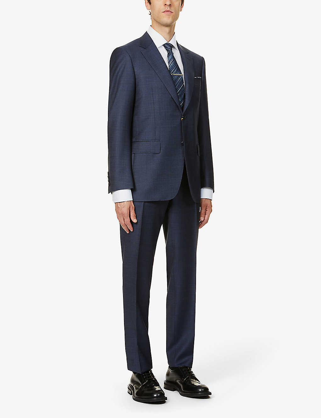 CANALI: Single-breasted regular-fit wool suit