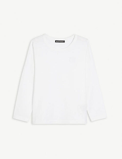 ACNE STUDIOS: Nash long-sleeved cotton T-shirt 3-10 years