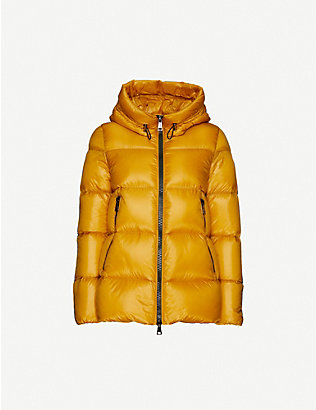 MONCLER: Seritte hooded shell-down jacket