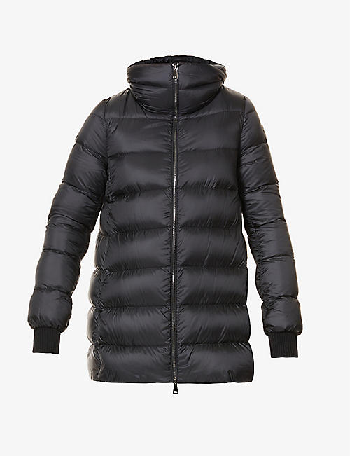 MONCLER: Ange detachable double-layer shell-down coat