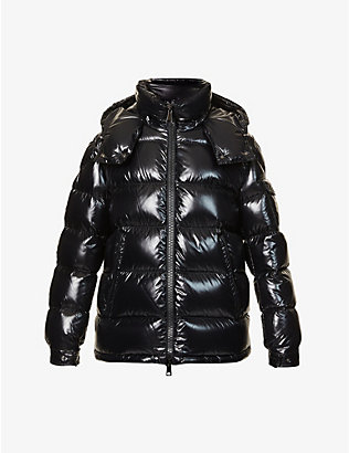 MONCLER: Maire padded shell-down coat