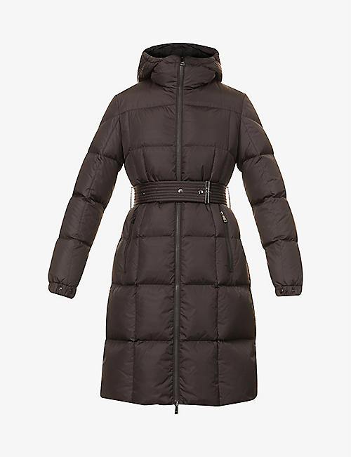 MONCLER: Padded shell-down coat