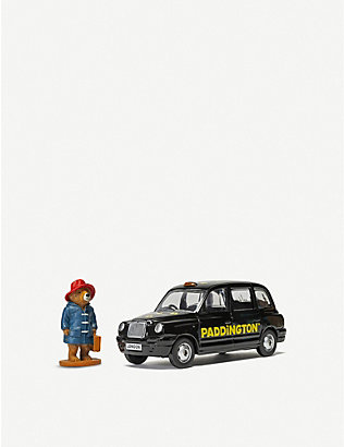 PADDINGTON BEAR: Paddington Bear taxi and figurine 12.8cm