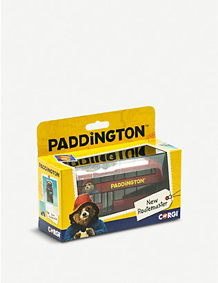 PADDINGTON BEAR: Paddington Bear Routemaster Bus 15cm