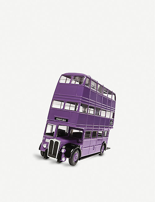 WIZARDING WORLD: Harry Potter Triple Decker Knight Bus model