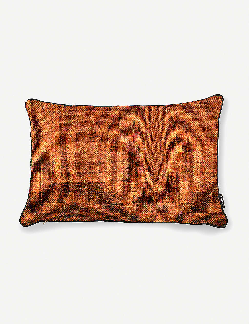 POLS POTTEN: Smooth bordered woven cushion 40cm x 60cm