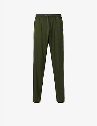 DEREK ROSE: Basel relaxed-fit jersey jogging bottoms