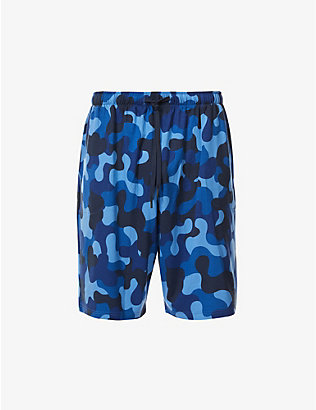 DEREK ROSE: Basel abstract-print stretch-jersey shorts
