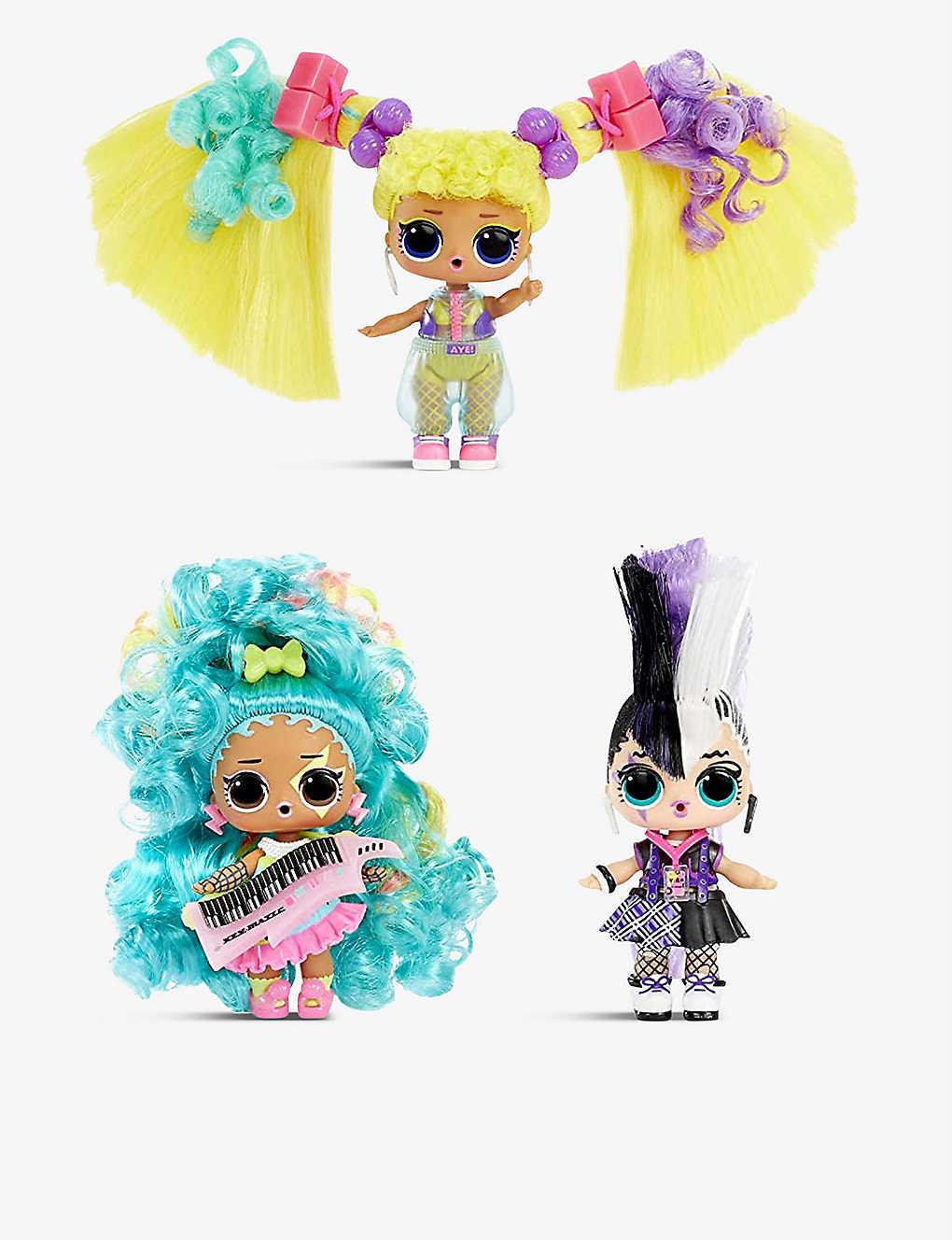 L.O.L. SURPRISE: Remix Hair Flip Dolls assortment