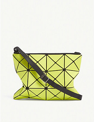 BAO BAO ISSEY MIYAKE: Lucent geometric shell cross-body bag