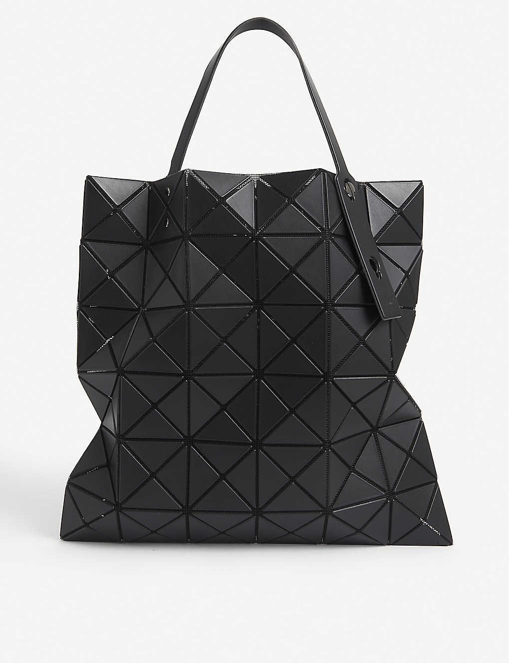 Bao Bao Issey Miyake Lucent Matte Geometric Tote In Black