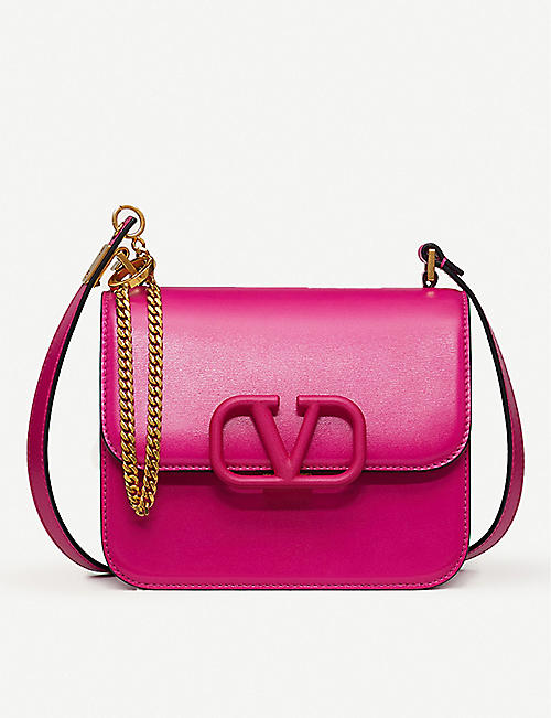 VALENTINO: VSLING leather shoulder bag