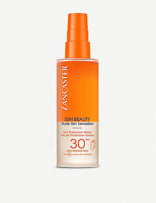LANCASTER: Sun Beauty Nude Skin Sensation Sun Protective Water SPF50 150ml