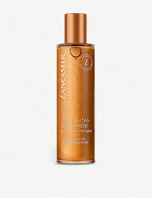 LANCASTER: Golden Tan Maximiser After Sun Oil 150ml