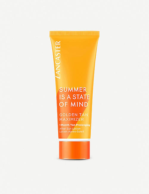 LANCASTER: Golden Tan Maximiser After Sun Lotion 75ml