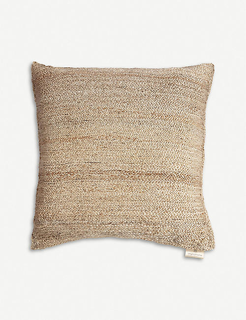 ORIGINAL HOME: Jute floor cushion 60cm x 60cm