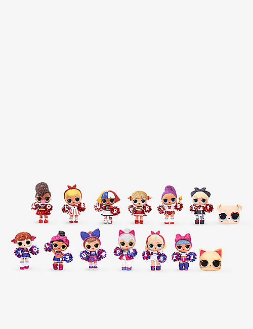 L.O.L. SURPRISE: All-Star B.B.s Sports Series 2 Cheer Team Sparkly assorted dolls