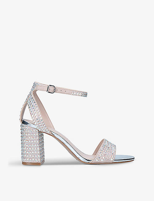 CARVELA: Kianni embellished heeled sandals