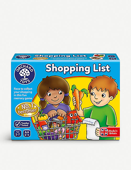 ORCHARD TOYS: Shopping List game