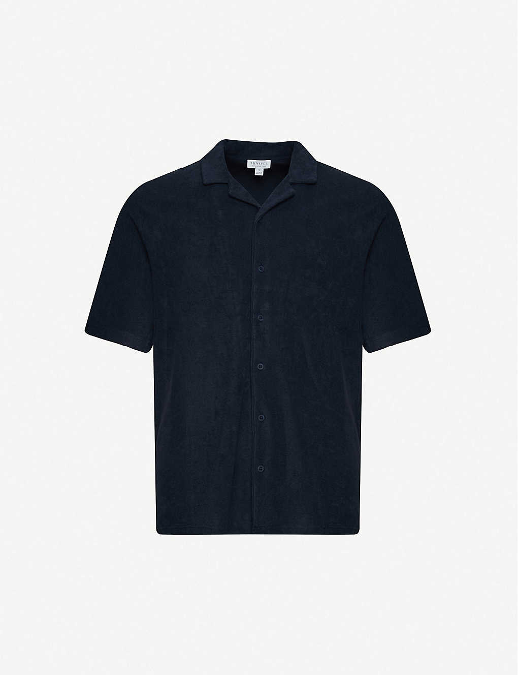 SUNSPEL: Relaxed-fit cotton-towelling shirt