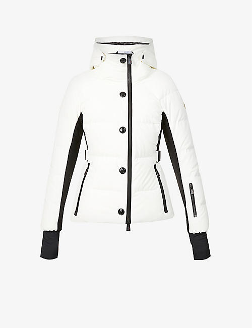 MONCLER: Guyane quilted shell jacket